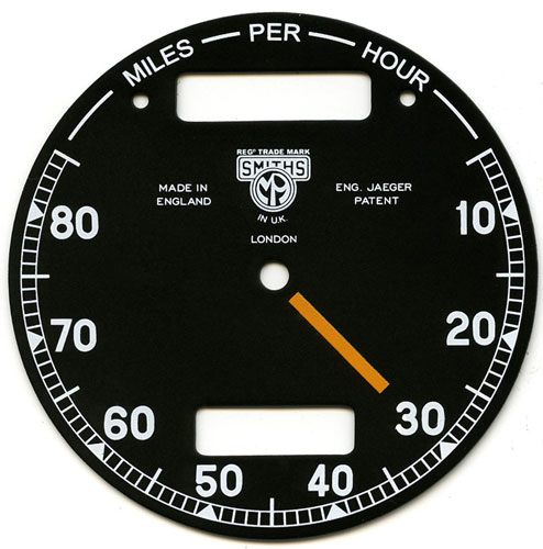 Chronometric Dials