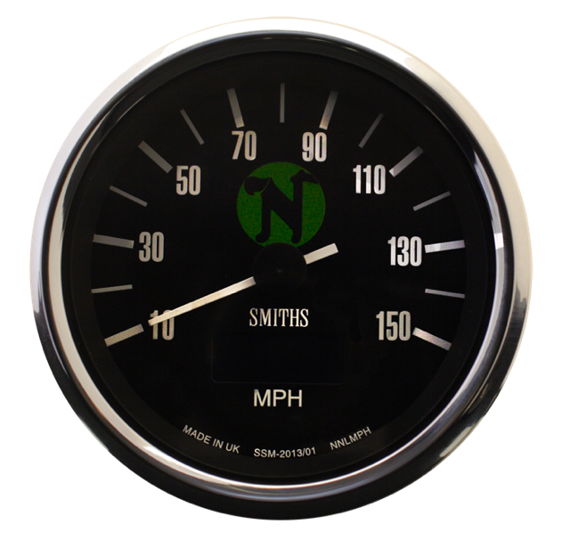 vdo gauges tachometer smiths chronometric marine speedometer