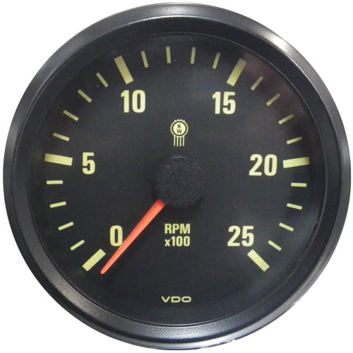 Kenworth Tachometer vdo gauges tachometer smiths chronometric marine speedometer kenworth tachometer wiring diagram at gsmx.co