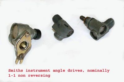 Instrument end angle drives