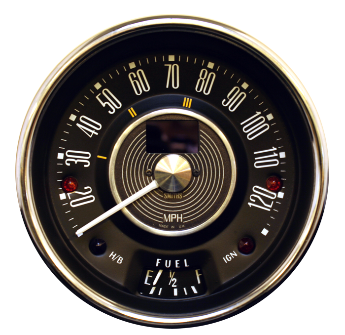 Electronic Speedometer Gauges : Vdo gauges tachometer smiths chronometric marine